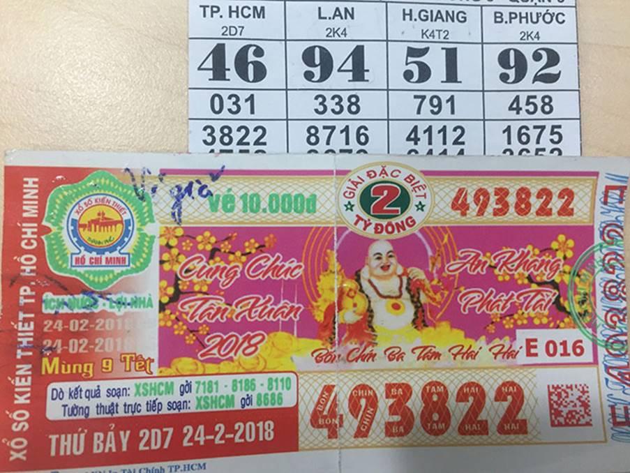 Bắt giữ đối tượng lừa đảo làm vé số giả tại Đồng Nai